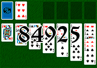 Solitaire №84925