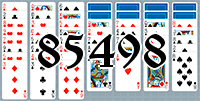 Solitaire №85498