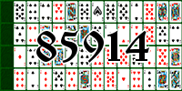 Solitaire №85914