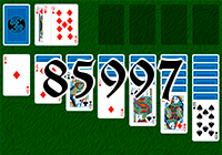 Solitaire №85997