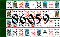 Solitaire №86059