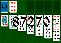 Solitaire №87270