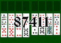 Solitaire №87411