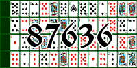 Solitaire №87636