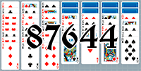 Solitaire №87644