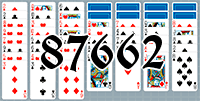Solitaire №87662