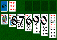 Solitaire №87690
