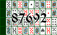 Solitaire №87692