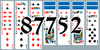 Solitaire №87752