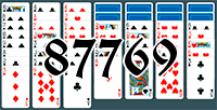 Solitaire №87769