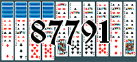 Solitaire №87791