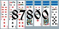 Solitaire №87800
