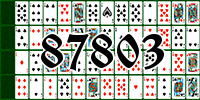 Solitaire №87803