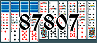 Solitaire №87807