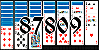 Solitaire №87809