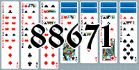 Solitaire №88671
