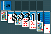 Solitaire №89311