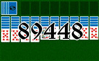 Solitaire №89448
