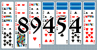 Solitaire №89454