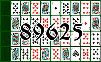 Solitaire №89625