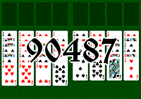 Solitaire №90487