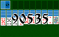 Solitaire №90535