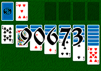 Solitaire №90673