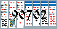 Solitaire №90702
