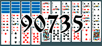 Solitaire №90735