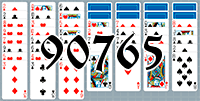 Solitaire №90765