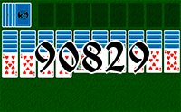 Solitaire №90829