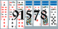 Solitaire №91578