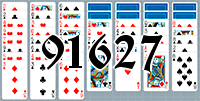 Solitaire №91627