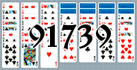 Solitaire №91739