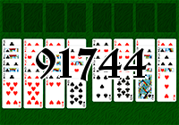 Solitaire №91744