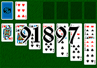 Solitaire №91897