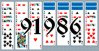 Solitaire №91986