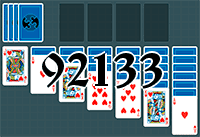 Solitaire №92133