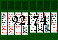Solitaire №92174