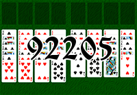 Solitaire №92205
