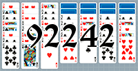 Solitaire №92242