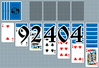 Solitaire №92404