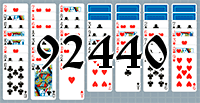 Solitaire №92440