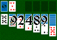 Solitaire №92489