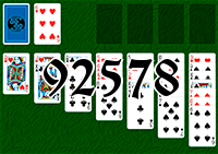 Solitaire №92578