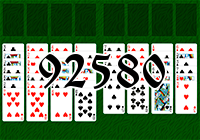 Solitaire №92580
