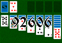 Solitaire №92606