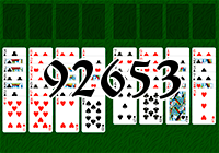 Solitaire №92653