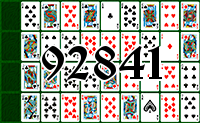 Solitaire №92841
