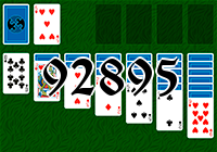 Solitaire №92895